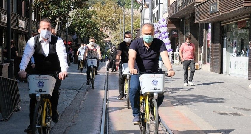 Bursa'da bisikletle ulaşım dönemi