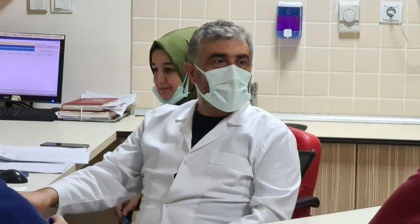 Covid-19 hastalarında uyguladıkları tedavi dünya literatürüne girdi