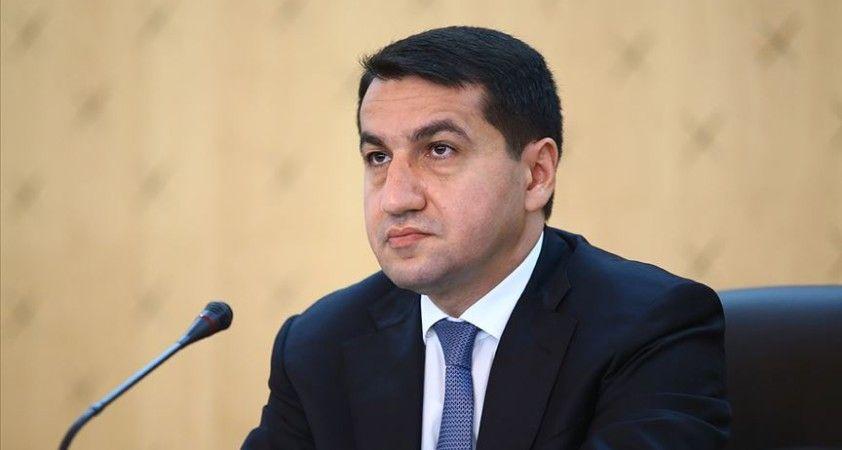 Azerbaycan Cumhurbaşkanı Müşaviri Hacıyev: Charlie Hebdo'yu şiddetle kınıyoruz
