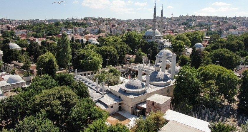 Mihrişah Valide Sultan İmarethanesi havadan görüntülendi
