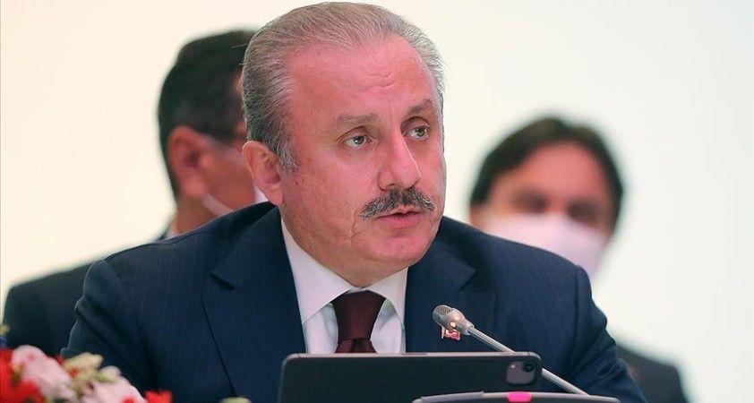 TBMM Başkanı Mustafa Şentop: Bölgesel iş birliğini ve diyaloğu güçlendirmeyi hedefliyoruz