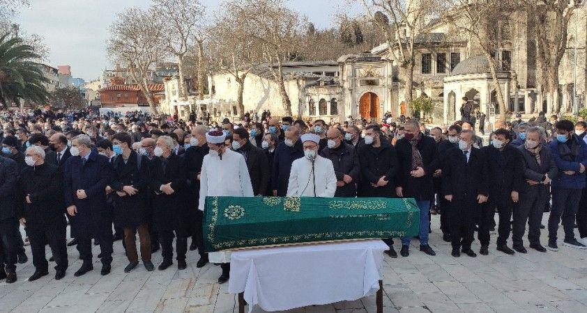 Cumhurbaşkanı Erdoğan, Yavuz Bahadıroğlu'nun cenaze namazına katıldı