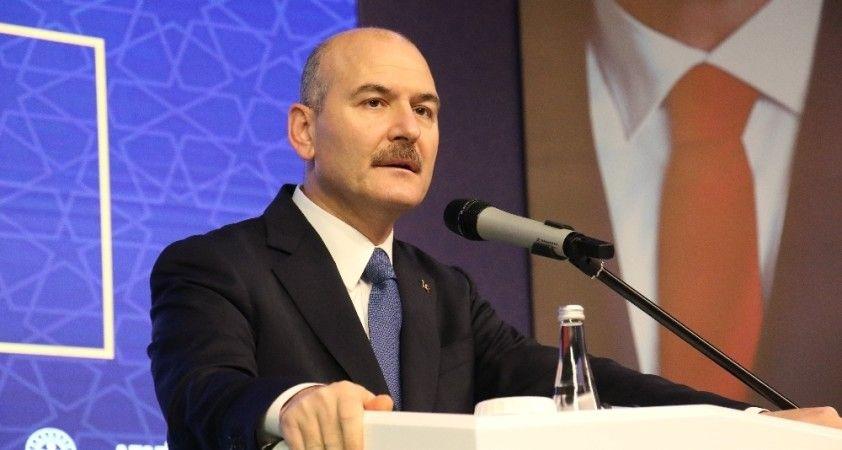 """Bakan Soylu: """"Canan Kaftancıoğlu, terör örgütlerinin soytarısıdır"""""""