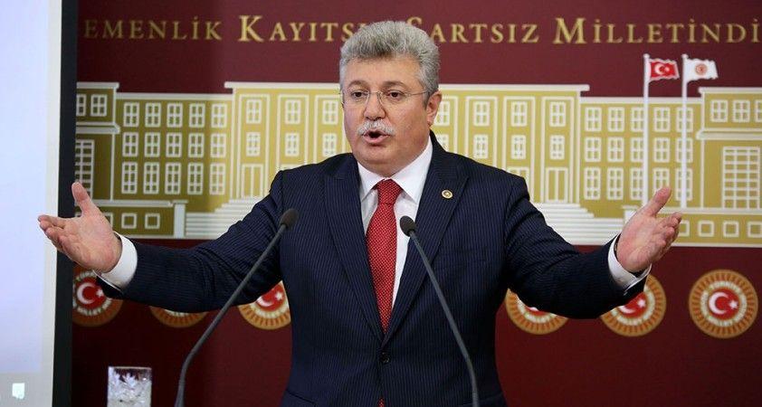 """AK Parti Grup Başkanvekili Akbaşoğlu: """"Gizlemeye çalıştıkları HDP'li ittifakın da itirafıdır bu"""