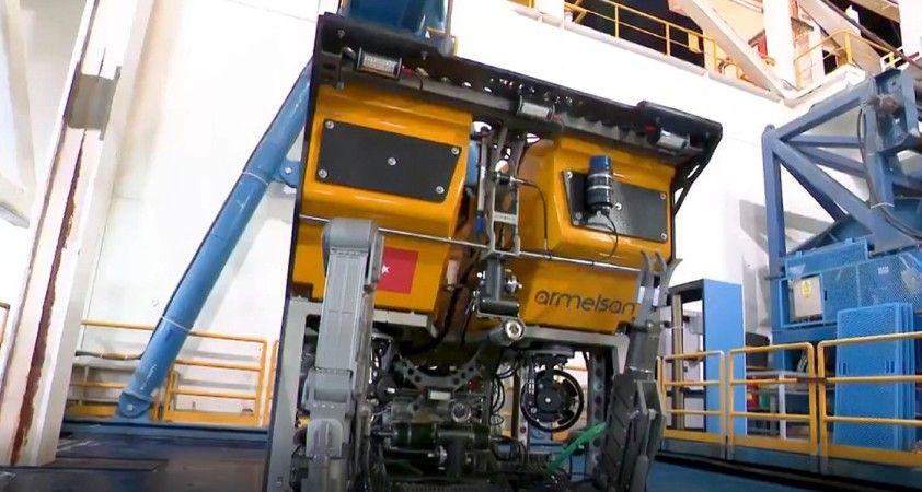 Yerli denizaltı robotu Kaşif, sondaj gemilerinin denizdeki gözü olacak