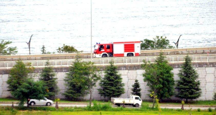 Azerbaycan konvoyu Giresun'dan geçti