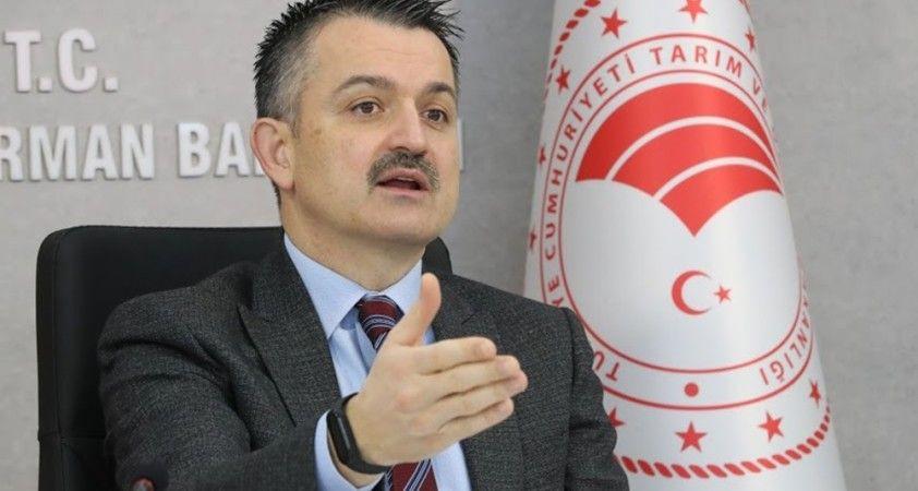"""Bakan Pakdemirli: """"Türkiye tarımsal hasılada Avrupa'da lider, dünyada ise ilk 10 arasındadır"""""""