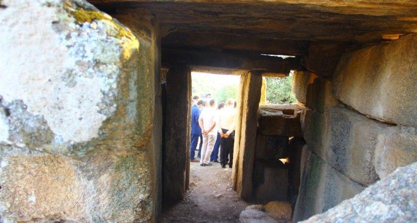 Definecilerin talan ettiği antik kente devlet sahip çıktı