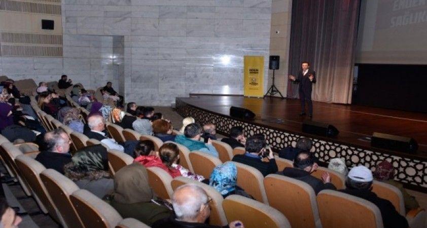 Dr. Ender Saraç sağlıklı yaşamın püf noktalarını anlattı