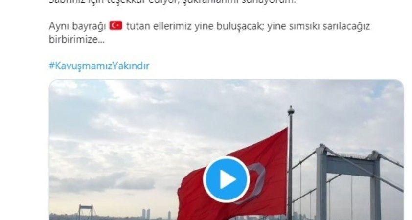 İstanbul Valisinden anlamlı bayram mesajı