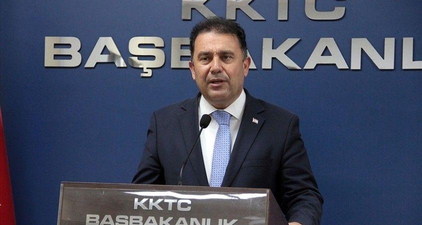 KKTC Başbakanı Saner, UBP Genel Başkan adaylığından çekildiğini açıkladı