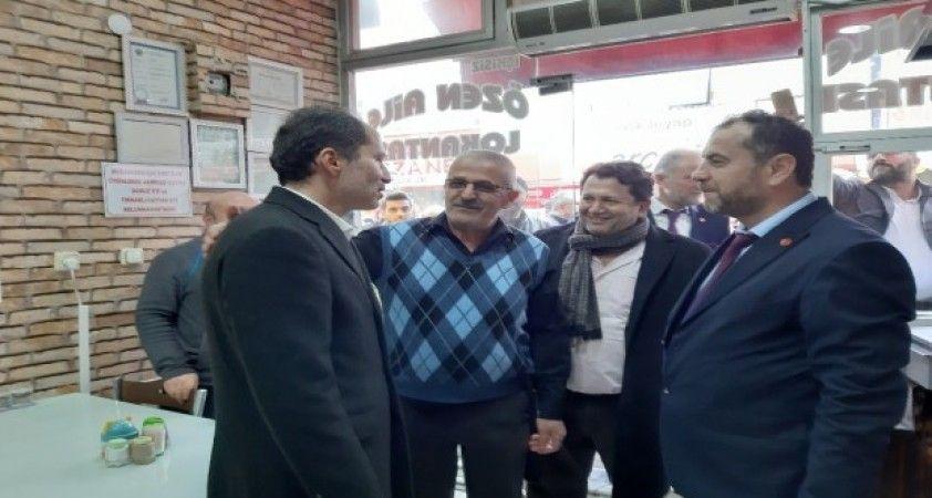 Yeniden Refah Partisi Genel Başkanı Erbakan Çaycuma'da
