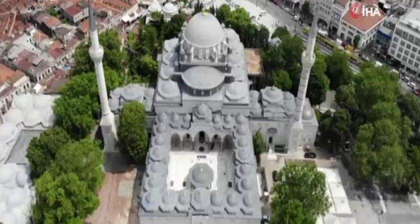 Beyazıt Camii'nde 49 milyon TL'lik restorasyon 8 yılda tamamlandı