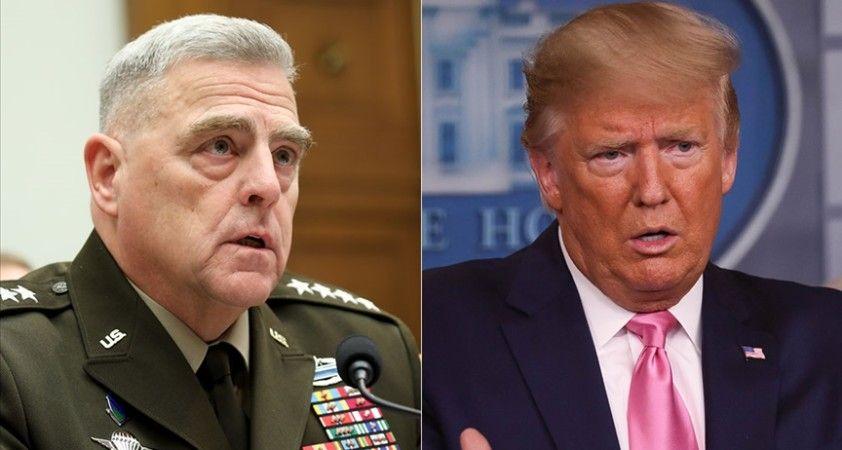 ABD Genelkurmay Başkanı'nın, Trump'ın Çin'e saldırabileceği endişesine ilişkin Pekin'e güvence verdiği iddia edildi