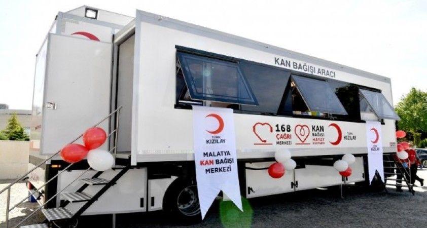 Kızılay'dan Malatya'ya yeni mobil kan bağışı aracı