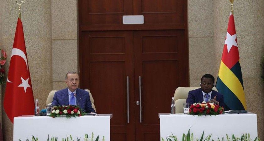 Cumhurbaşkanı Erdoğan: Togo'nun FETÖ ile mücadelemiz bağlamında verdiği destek takdire şayandır