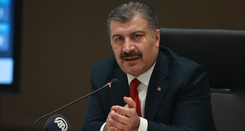 """Sağlık Bakanı Koca: """"Aşı ve tedbirle yeniden mücadeleye dönelim"""""""