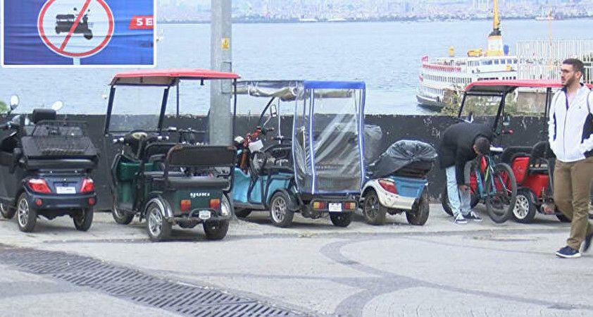 Adalar'da 5 Ekim itibarıyla akülü araç kullanmak yasak: 'Ada E-5'e döndü'