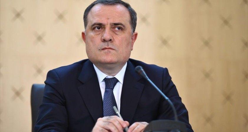Azerbaycan Dışişleri Bakanı Bayramov: Çatışma bölgesindeki Azerbaycanlı ve Ermeni nüfusun barışla yaşaması sağlanacak