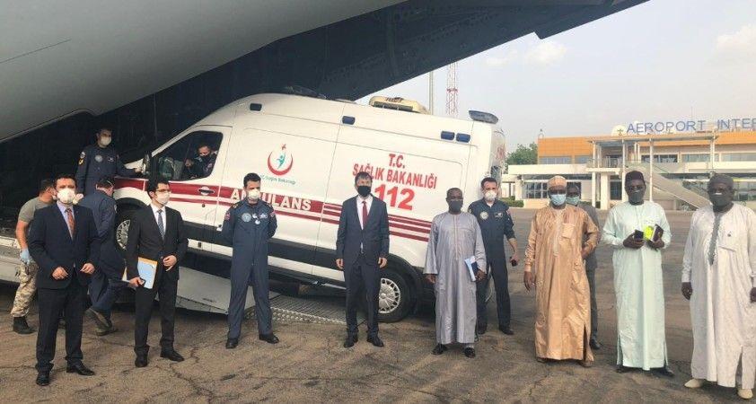 """MSB: """"Tıbbi yardım malzemelerini taşıyan uçak Çad'a indi"""""""