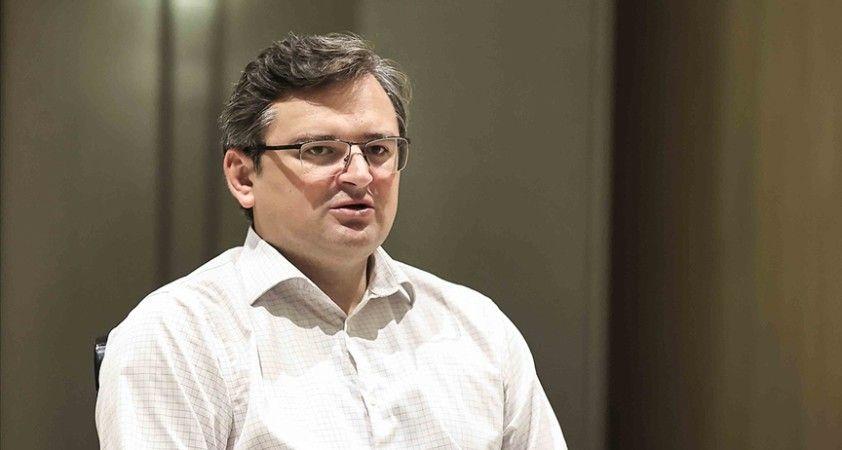 Ukrayna Dışişleri Bakanı Kuleba, NATO'yu üyelik için reform listesi vermeye çağırdı