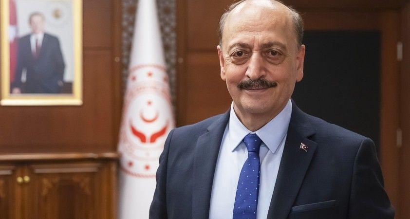 Çalışma ve Sosyal Güvenlik Bakanı Bilgin'den 1 Mayıs kutlaması