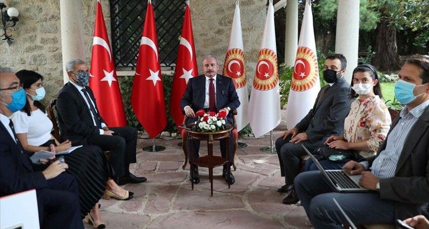 TBMM Başkanı Şentop: AB'nin Türkiye'de yerine getirdikleri, vaatlerinin 10'da 1'ini bile teşkil etmiyor