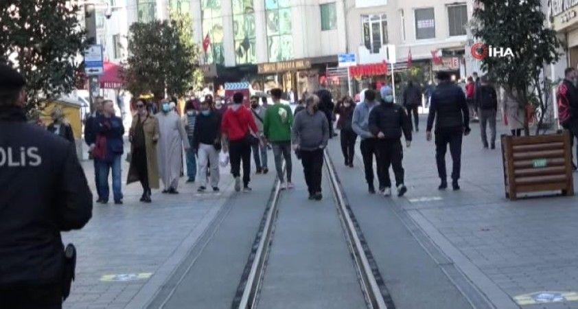 Türkiye genelinde uygulanan hafta sonu kısıtlaması dün 21'de başladı