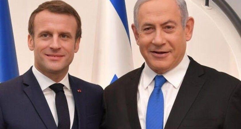 İsrail'den Fransa'ya destek