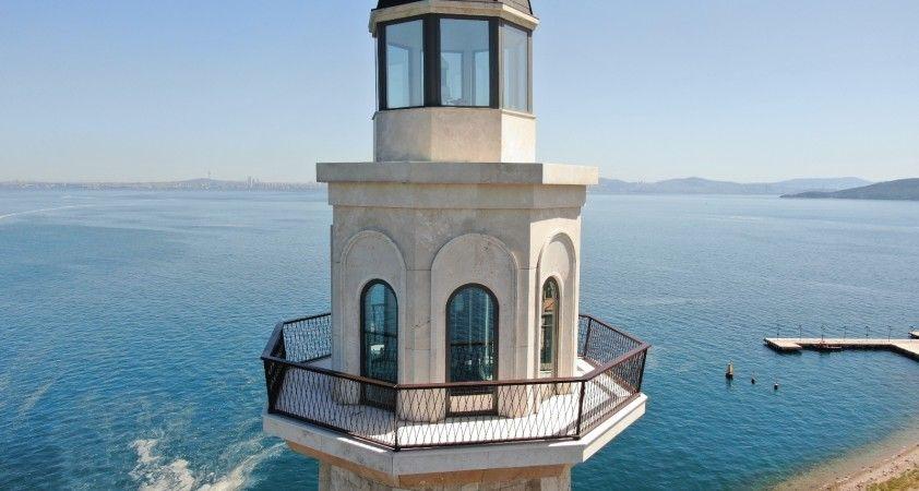 Demokrasi ve Özgürlükler Adası'nda dikkat çeken anıtlar