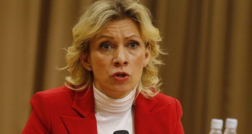 Rusya Dışişleri Bakanlığı Sözcüsü Zaharova: Türkiye ile çok yönlü iş birliğimizin önemli sonuçları oldu