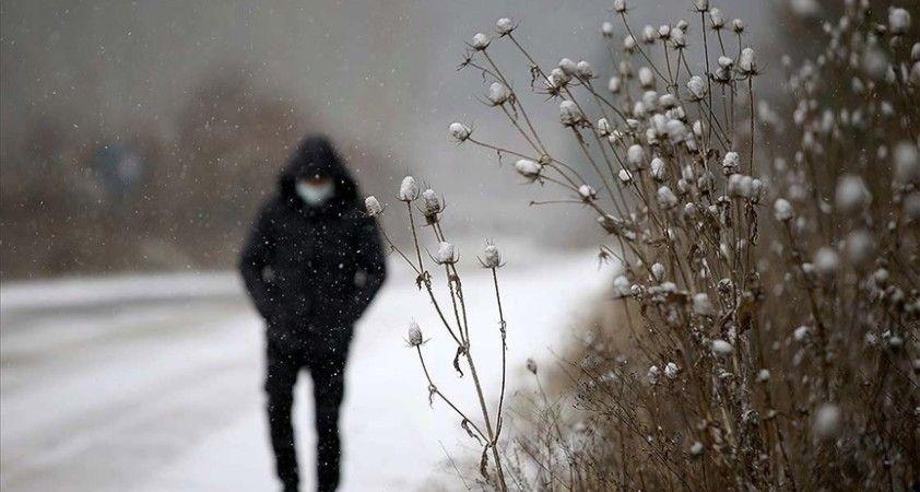 Meteoroloji'den Trakya için 'turuncu' uyarı: Yer yer 20 ile 40 santimetre kar yağışı bekleniyor
