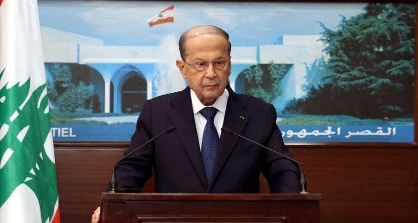 Lübnan Cumhurbaşkanı: 'İsrail'le müzakerelerin egemenlik haklarımızı koruyacak anlaşmayla sonuçlanmasını umuyoruz'