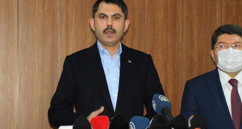Çevre ve Şehircilik Bakanı Murat Kurum, Bartın'daki yatırımları değerlendirdi