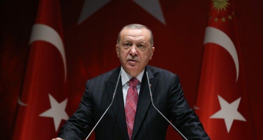Cumhurbaşkanı Erdoğan, AB Konseyi Başkanı ile görüştü
