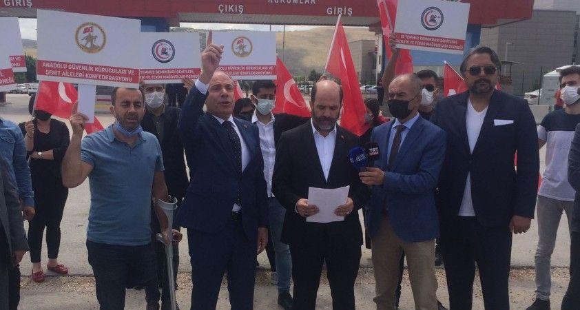 Şehit yakınları ve gazilerden HDP'ye tepki: