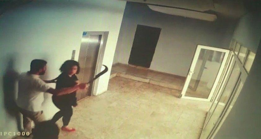 Otele taş ve tahrayla saldırıda darp edilen otel çalışanı o anları anlattı