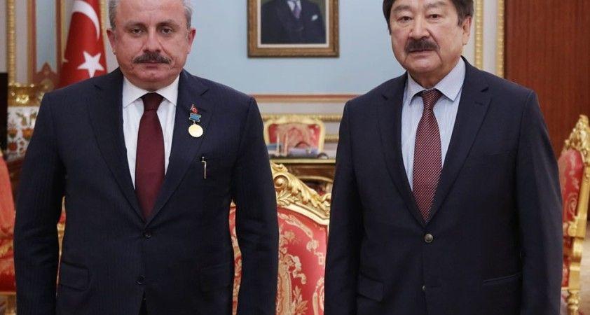 TBMM Başkanı Şentop, TÜRKSOY Genel Sekreteri Kaseinov'u kabul etti