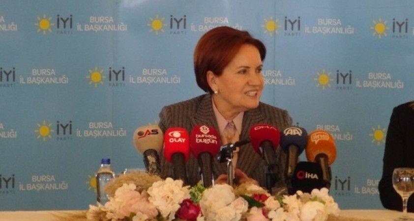 İYİ Parti Genel Başkanı Akşener partisindeki istifalara ilişkin konuştu