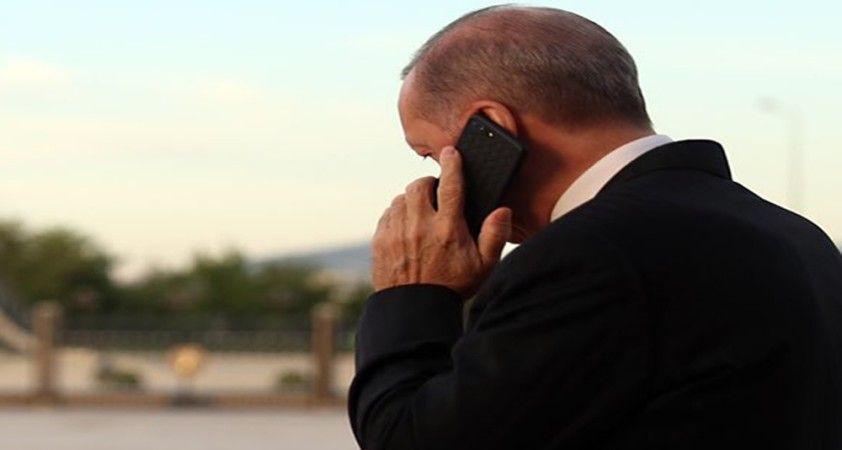 Cumhurbaşkanı Erdoğan, Kazakistan Kurucu Cumhurbaşkanı Nazarbayev'le telefonda görüştü