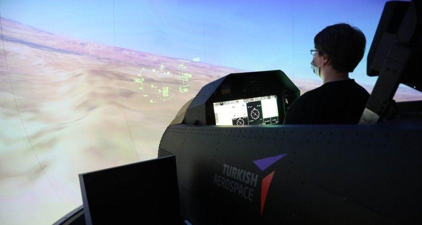 Hürjet simülatörü ilk kez Teknofest'te