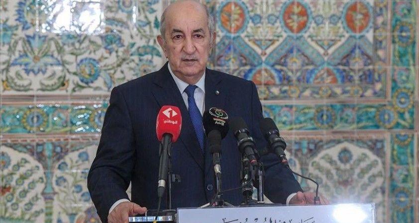 Cezayir Cumhurbaşkanı Tebbun'dan anayasa değişikliği için referanduma hazırlık talimatı