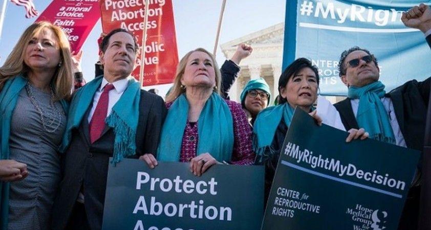 Trump: Kürtaj hakkı konusunda yeni Yüksek Mahkeme kararı 'mümkün'