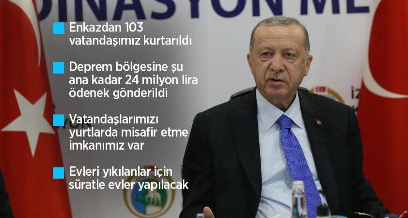 Cumhurbaşkanı Erdoğan: Şu an itibarıyla 37 vefatımız, 885 yaralımız var