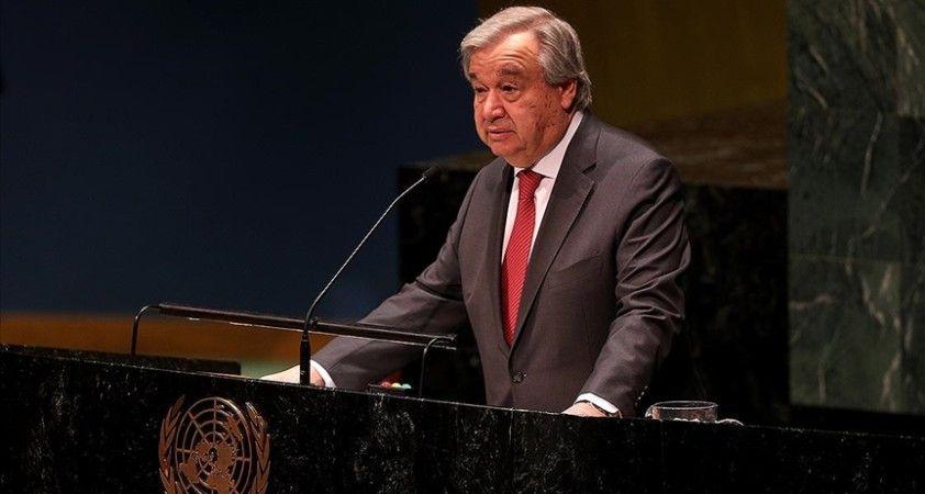 BM Genel Sekreteri Guterres: Aşı Kovid-19 salgınının neden olduğu hasarı geri almayacak