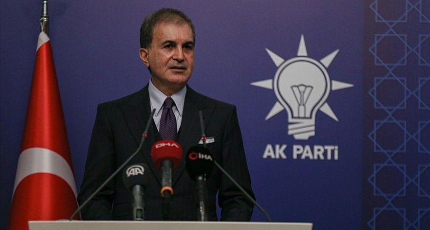 AK Parti Sözcüsü Çelik: Cumhurbaşkanımız tarafından açıklanan reformlar insanımız ve ülkemiz içindir
