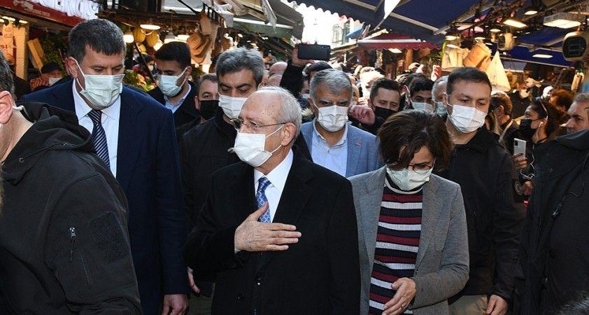 CHP Genel Başkanı Kılıçdaroğlu'ndan Kadıköy turu