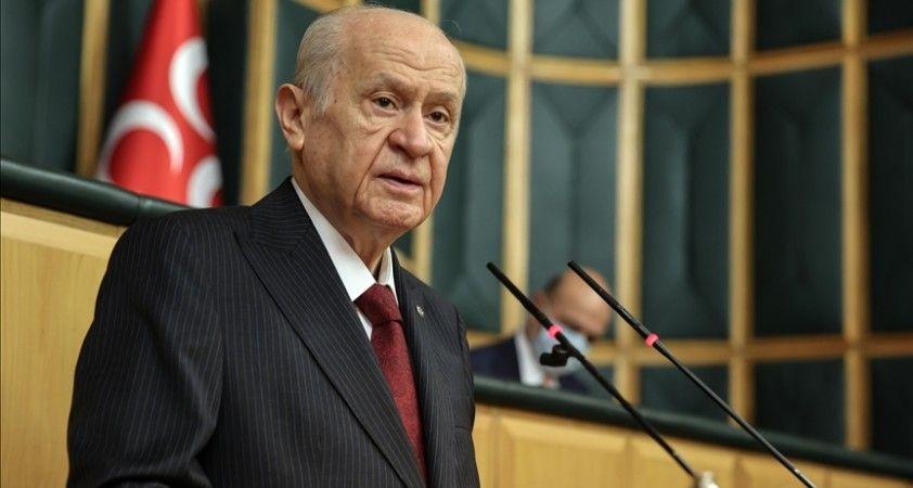 MHP Genel Başkanı Bahçeli: Kılıçdaroğlu'nun bürokrasiyi tehdit mesajı vesayetçi bir söylemdir