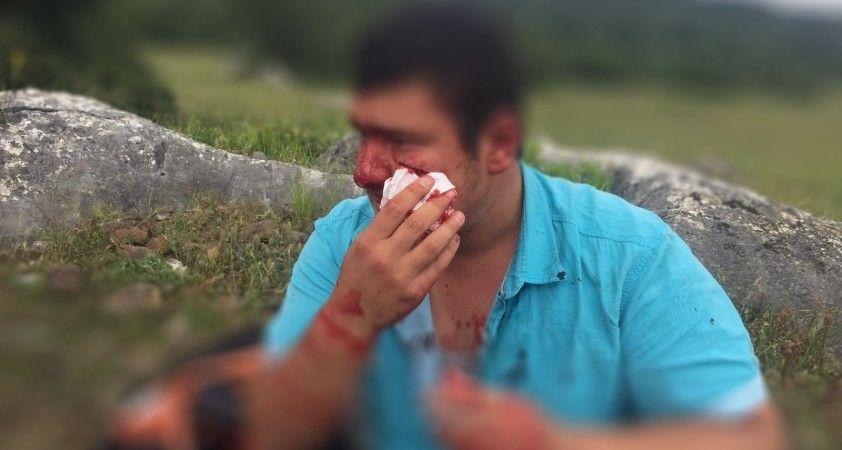 İHA muhabiri Uslu'ya yapılan saldırıya kınamalar