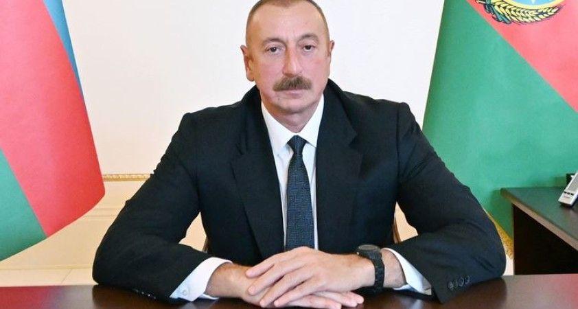 Azerbaycan Cumhurbaşkanı Aliyev: Ermenistan ordusu geri çekilirlerse çatışmalar durur